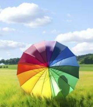 Colourful umbrella small 210 242 70