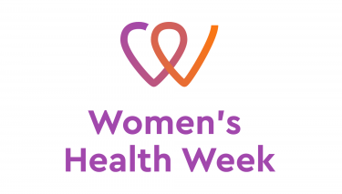 Womens health week logo